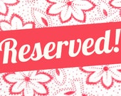 RESERVED Pretty, party, festival, Wellies, Wellingtons, Boots, Wellie Clips, Roses Bouquet red