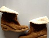 Shealing suede boots size 9/40