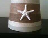 Medium Jute Wrapped Starfish Lampshade