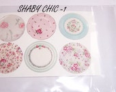 decal paper dish shaby chic