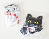 Vintage Halloween Baking Toppers