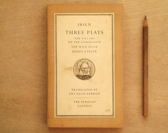 penguin paperback Ibsen Three Plays book penguin classics