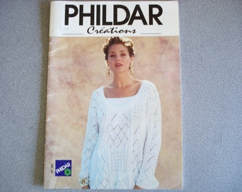 PHILDAR Knitting Magazine CREATIONS Issue 260.