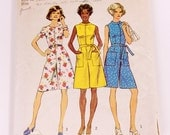 CLEARANCE Simplicity 6453 Gaucho Romper Pantdress - Size 14
