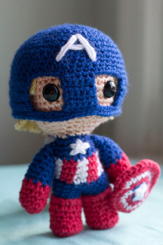 Captain America Knitting Pattern : Unavailable Listing on Etsy