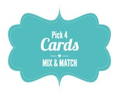Mix and Match 4 Cards