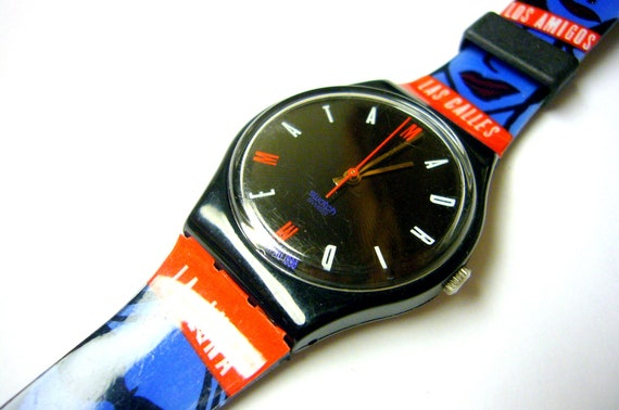 Swatch Madrid Spain Europe watch Fashionable Swiss watch