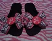 Rockin' girls flip flops