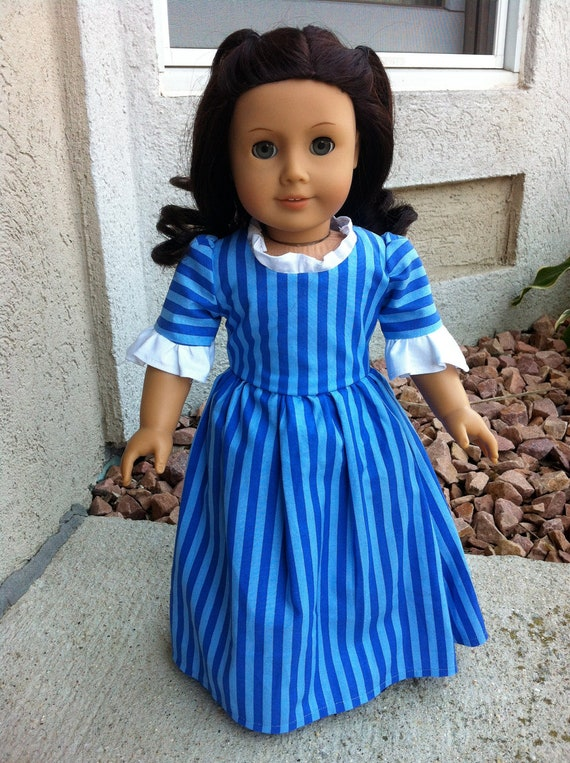 Apple Butter Dress for Felicity or 18 inch Doll
