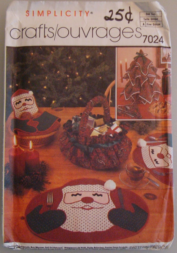 OOP Simplicity  Holiday Craft Home Decor Pattern Uncut 7024
