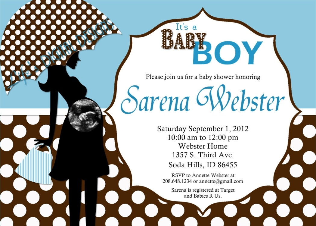 Baby Shower Clip Art Black And White