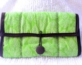Diaper Changing Pad Clutch Perfect for Travel