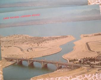 1970's Lake Havasu-London Bridge Post Card Ephemera Arizona