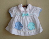 vintage baby dress 6 months - OliversForest