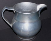 Vintage 6 Inch Wilton Columbia PA Pewter Water Pitcher Made in USA