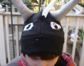 SALE - Dark Spyro / Skylanders inspired Fleece hat