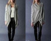 shirt/spring sweatshirt/knitwear/  long sleeves Tshirt/ grey cardigan /gray cardigan (FM121)
