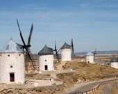 "Windmills in Consuegra Spain - 8"" x 10"" fine art print"
