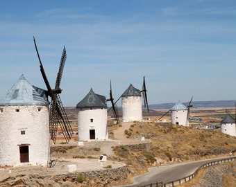 Windmills in Consuegra Spain - fine art print