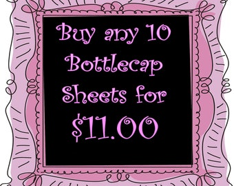 SALE Buy Any  10 Image Sheets  for 11 dollars