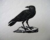 Raven Crow Letterpress Card Set