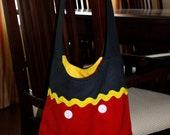 Mickey Mouse Mini Mail Sack--lindsay miranda