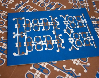 Reversible Thank You Cards