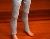 MSD Clothes Grey Leggings For MNF BJD