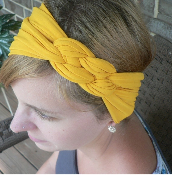 Women's Knotted Headband Buffs in Assorted Colors