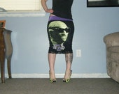 SALE Invisible Man - Think Of The Options Pencil Skirt