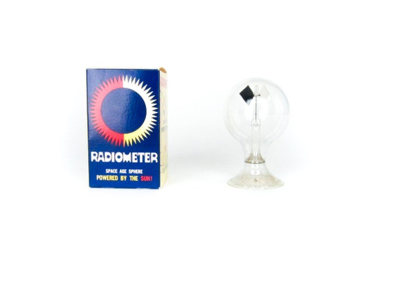 Vintage Radiometer - Space Age Sphere