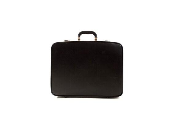 RESERVED until 10/26- Vintage Suitcase - Black