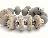 NEW PRICE Lampwork Bits and Pieces : Destash Bead Set