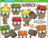 Whack A Gopher Clip Art