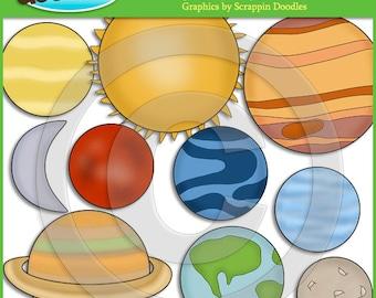 Planets Clip Art