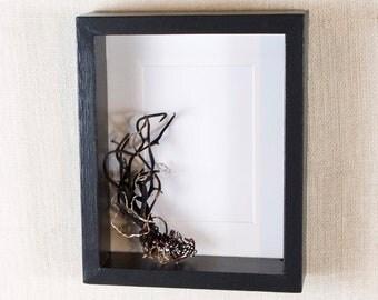 Modern Deep Frame 8x10 - Black - Deep Frame, Box Frame