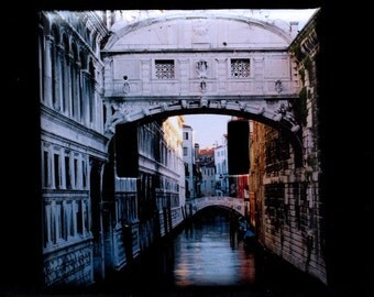 Double Switchplate Cover - Bridge of Sighs in Venice