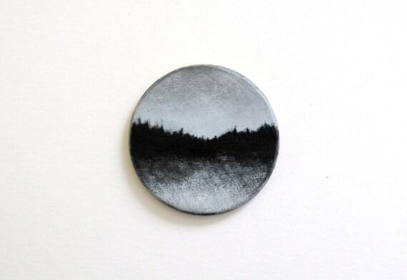 Adirondack Magnet Oil Painting
