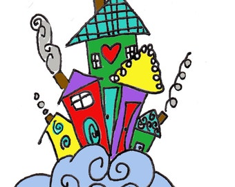 happy hippy house
