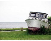 The Old Boat: Fine Art Photograph Note Card