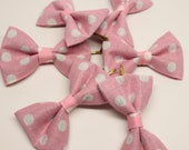 10 Hair Bow party favors