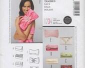 Burda Style 7543 Handbag Purse Clutch Evening Bag Pattern