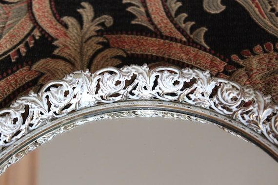 Vintage Round Vanity Mirror
