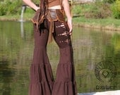 Aiwaya Pants - in Black - Tribal Fusion Dance Pants