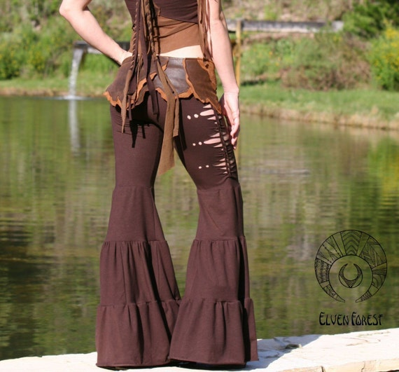 Aiwaya Pants - in Black - Tribal Fusion Dance Pants