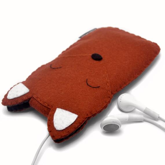 Fox - iPhone 6 Case, iPhone 5 Case, iPhone 7 Case, iPhone 6S Case, Fox iPhone Case, Cute Animal Phone Case
