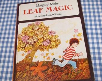 leaf magic, vintage 1977 children's book