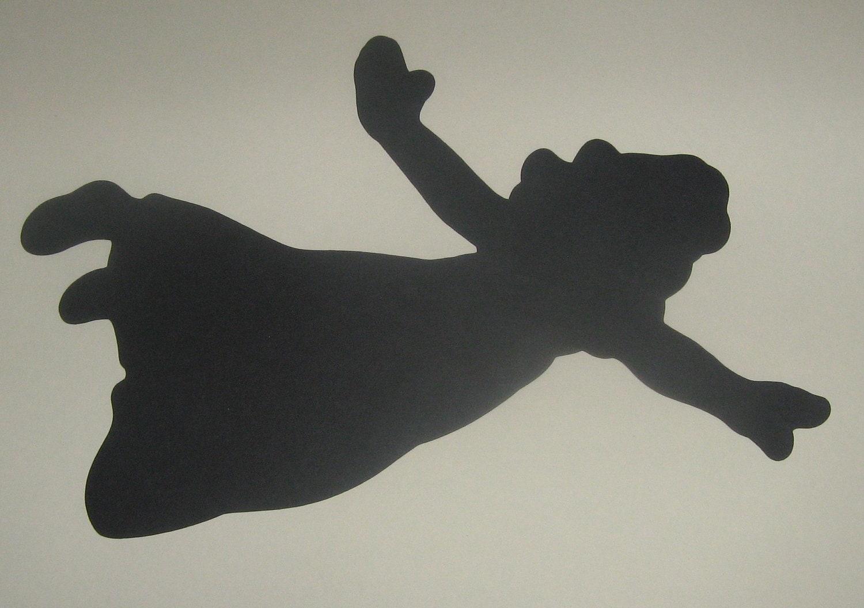 Wendy Peter Pan SilhouetteDisney character Captain Hook