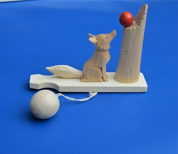 Russian Made Hand Toy, Fox