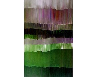 ORIGINAL ABSTRACT Painting Ready to Hang 30x24 Impasto Acrylic Art and Collectibles By Thomas John